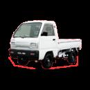 Super Carry Truck thùng lửng