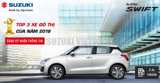 Suzuki Swift xe do thi 2018