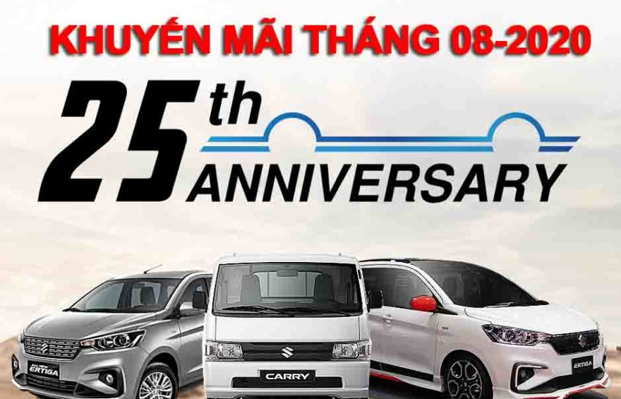 Suzuki Khuyen mai 08-2020